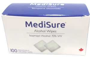 MediSure Alcohol Wipes
