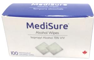 Lingettes alcoolisées MediSure